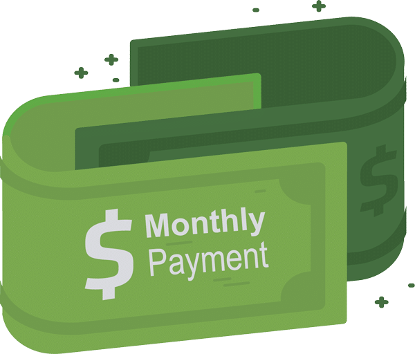 Monthly Payment Logo