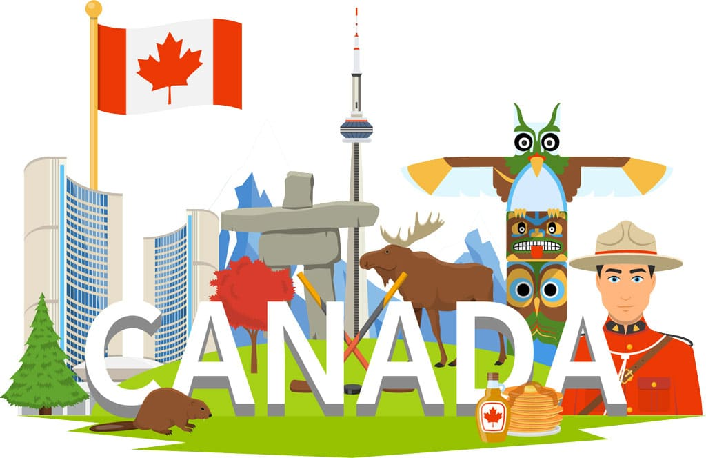 welcome to canada graphic